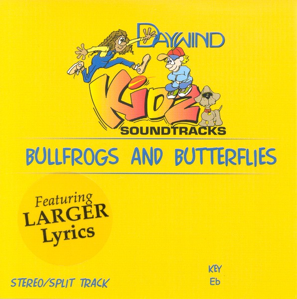 Bullfrogs and Butterflies, Accompaniment CD