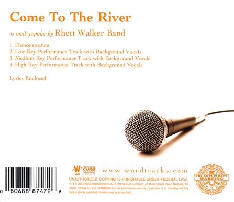 Come to the River Acc, CD