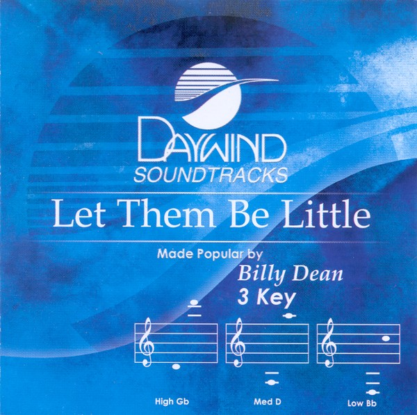 Let Them Be Little, Accompaniment CD