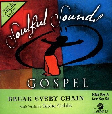 Break Every Chain Accompaniment CD