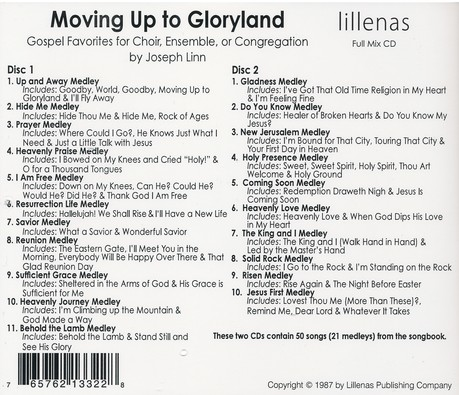 Moving Up To Gloryland, Double Stereo CD