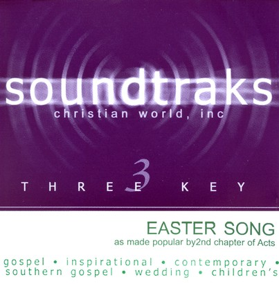 Easter Song (Single Key), Acc CD