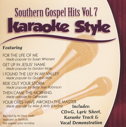 Southern Gospel Hits, Volume 7, Karaoke Style CD