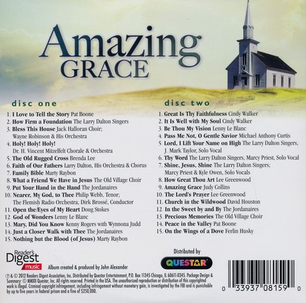 Amazing Grace--2-CD Set