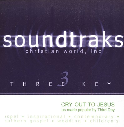 Cry Out To Jesus, Accompaniment CD
