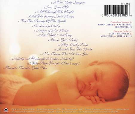 I Can Only Imagine: Lullabies For A Peaceful Rest, Compact Disc [CD]