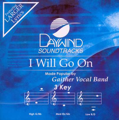 I Will Go On, Accompaniment CD