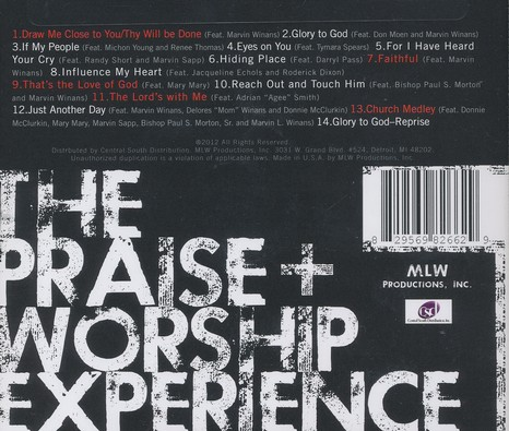The Praise & Worship Experience: Marvin L. Winans   CD