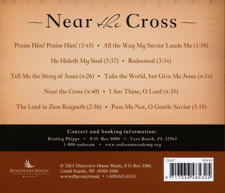 Near the Cross: Wintley Phipps Sings Beloved Hymns of Fanny Crosby