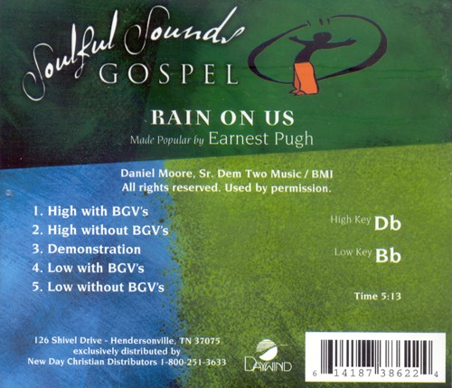 Rain On Us, Accompaniment CD