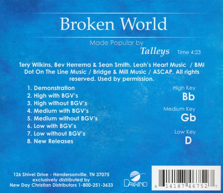 Broken World Acc, CD