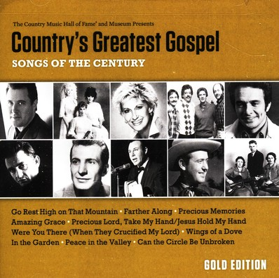 Country's Greatest Gospel: Songs of the Century Gold Edition CD