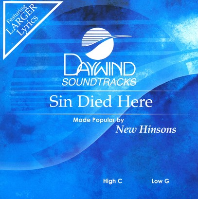 Sin Died Here, Accompaniment CD