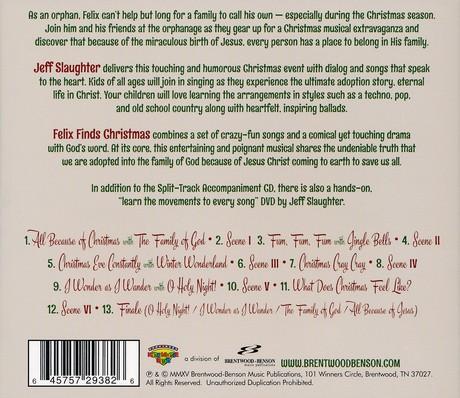 Felix Finds Christmas, Listening CD