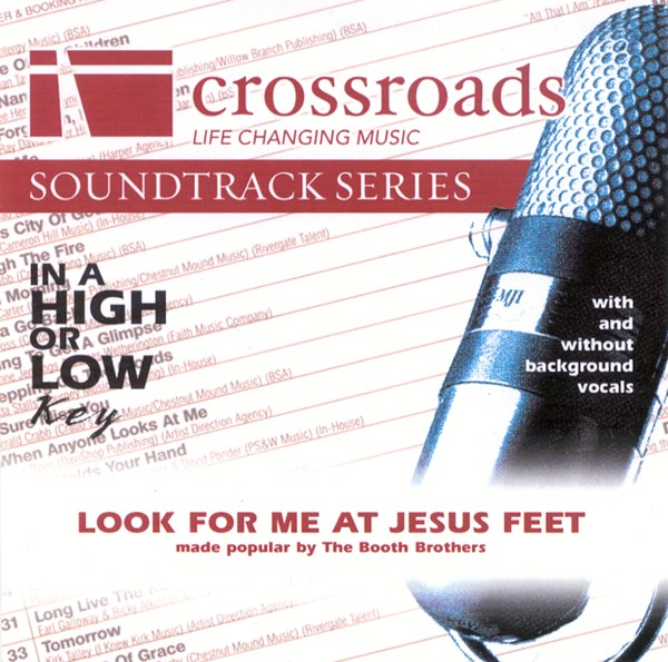 Look For Me At Jesus Feet, Accompaniment CD