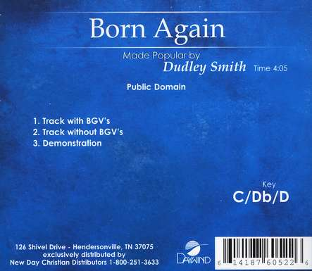 Born Again, Acc CD