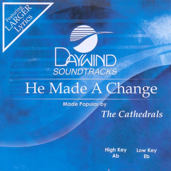 He Made A Change, Accompaniment CD