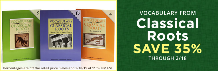 Vocabulary from Classical Roots Sale