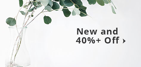 New + 40%+ off