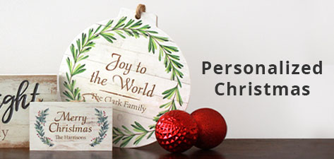 Personalized Christmas
