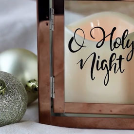 O Holy Night Lantern