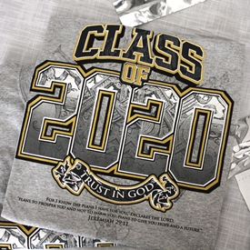 2020 Grad Tees - may be personalized