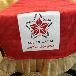 All is Calm Table Runner