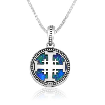 Circular Jerusalem Cross