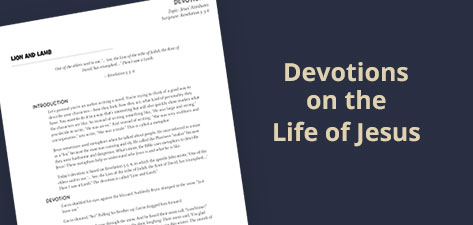 Devotions on the Life of Jesus