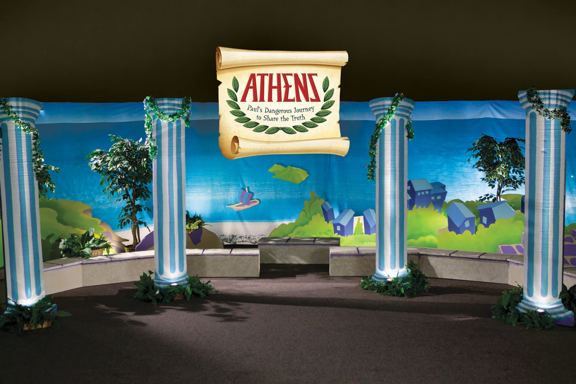 Athens Main Set Design