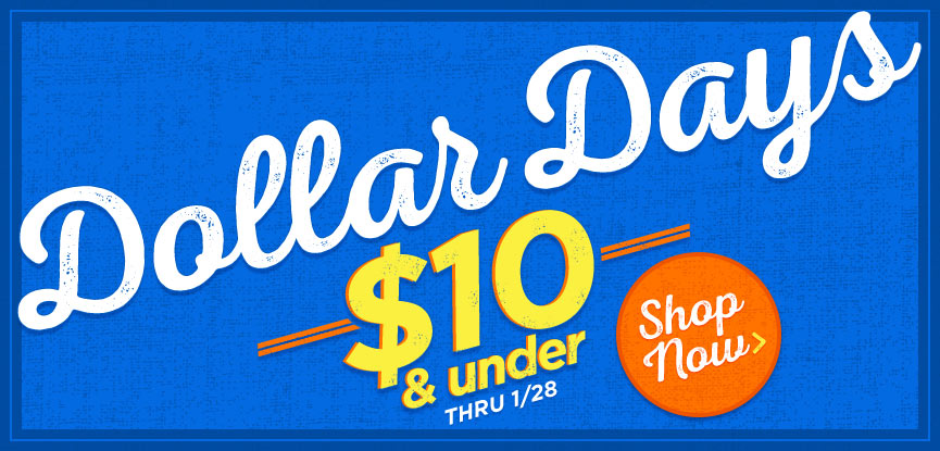 Dollar Days Sale