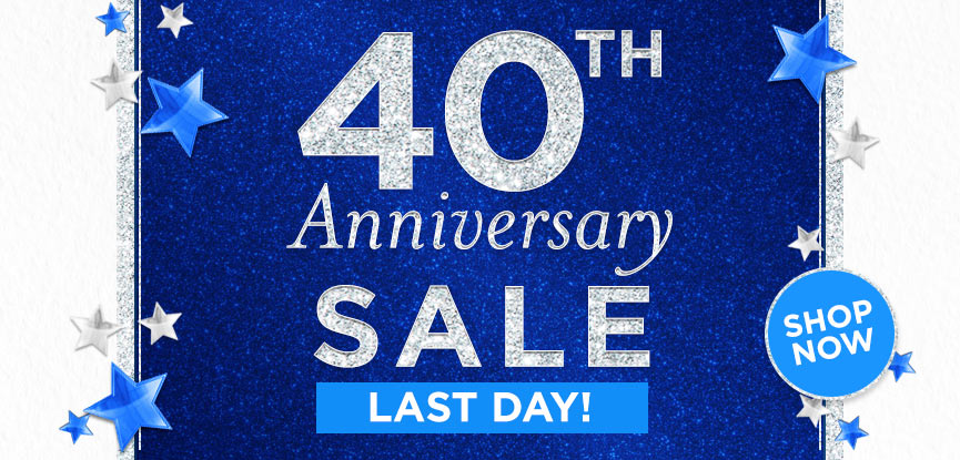 40th Anniversary Last Day