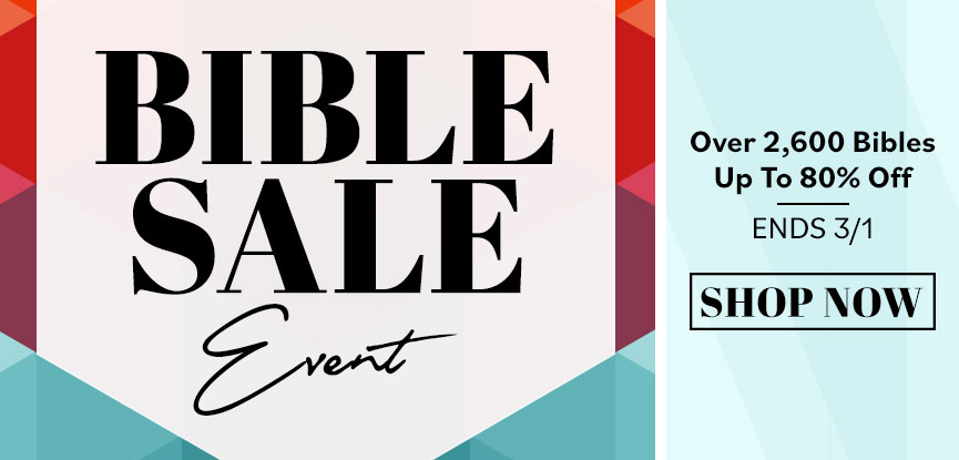 The Bible Sale Event