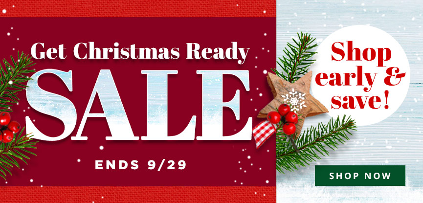Get Christmas Ready Sale