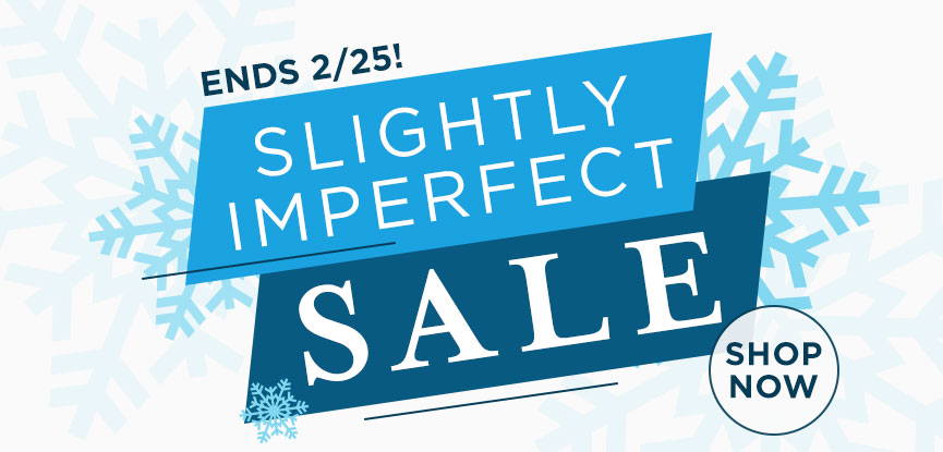 Slightly Imperfect Mini Sale