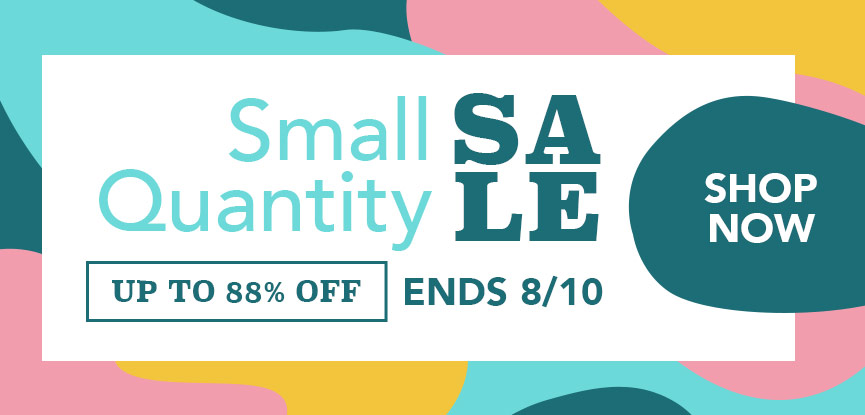 Small Closeout Sale