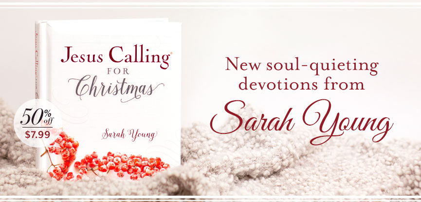 Jesus Calling for Christmas 50% off