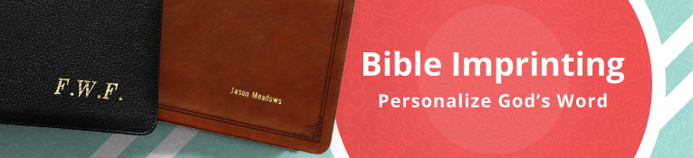 Personalize A Gift Bible or For Your Library