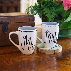 Hello Handsome / Beautiful Mr Mrs Mugs