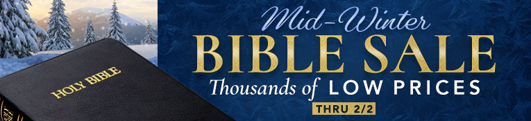 Mid-Winter Bible Sale