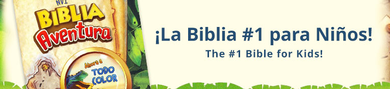 NVI Kids Adventure Bible- Spanish