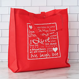 Red Eco Tote