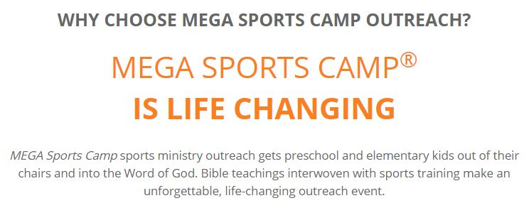 Why Choose Mega Sports Camp?