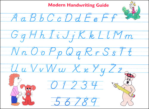 McRuffy Handwriting Modern