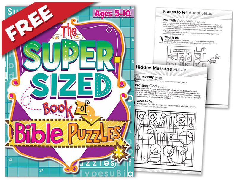 graphic regarding Printable Bible Crossword Puzzles With Scripture References identified as 10 Totally free Young children Bible Puzzles and Actions with Ultimate Bible