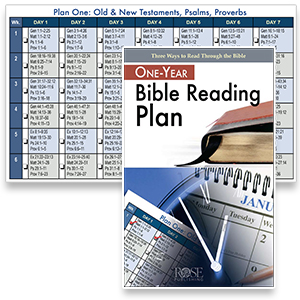 Free One Year Bible Reading Plan