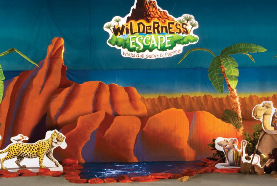 Wilderness Escape Main Set Design