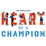 Heart of a Champion Mega Sports Camp Logo