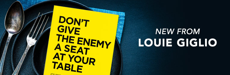 Don't Give the Enemy a Seat at Your Table, eBook
