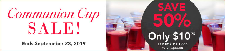 Communion Cups Sale